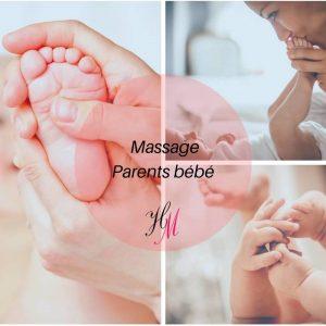 Carte cadeau Givors : massage parents bébé
