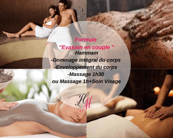 carte Evasion : massage couple Péage de Roussillon