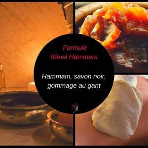 Carte formule rituel hammam traditionnel Annonay