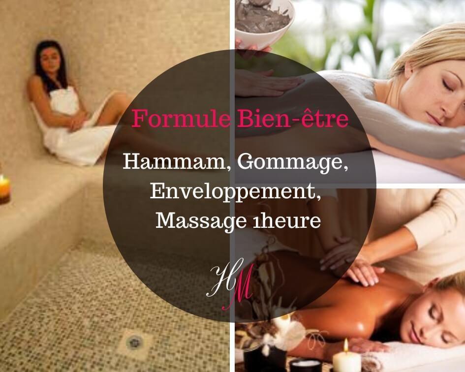 Formule bien-être : massage et hammam traditionnel Grenoble