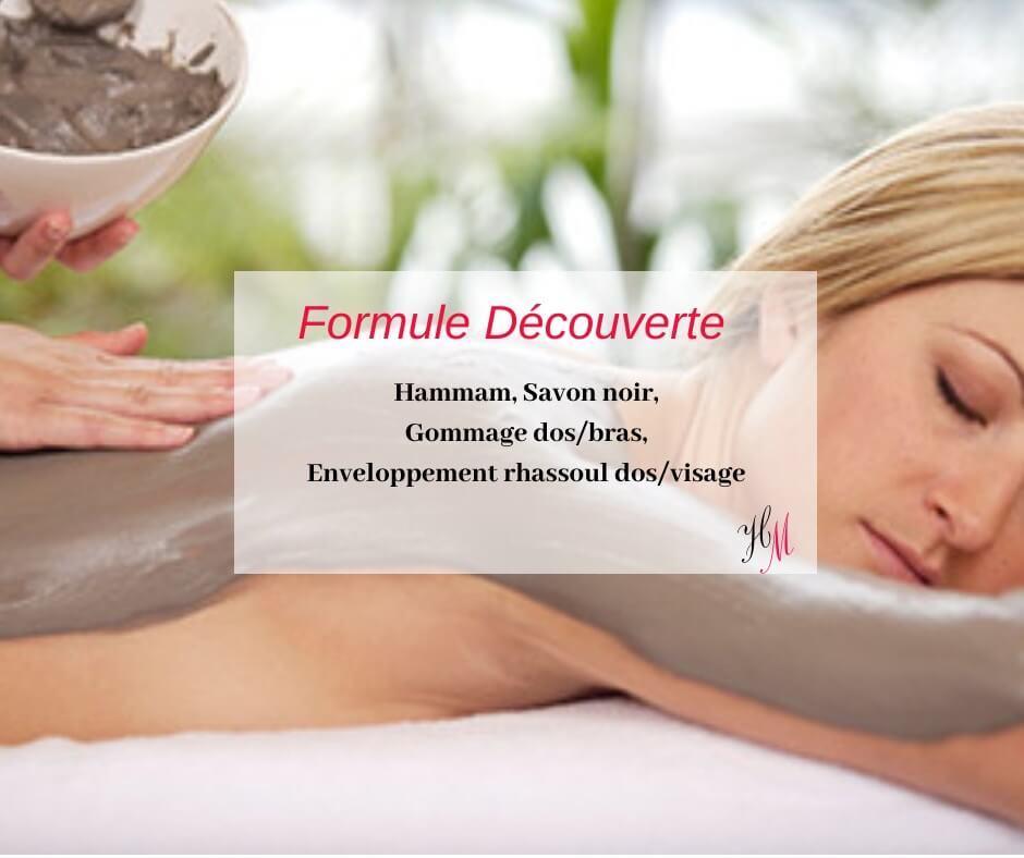 Formule découverte Hammam traditionnel Bourgoin-Jallieu