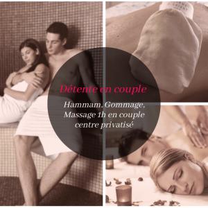 Formule détente : hammam traditionnel et massage couple Vienne 38