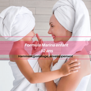 Formule Marina enfant : hammam traditionnel Givors