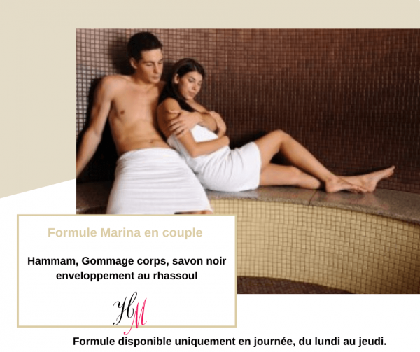 Formule Marina : soirée couple Communay