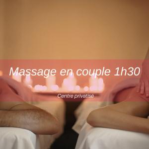 Massage couple Bourgoin-Jallieu : 1h30