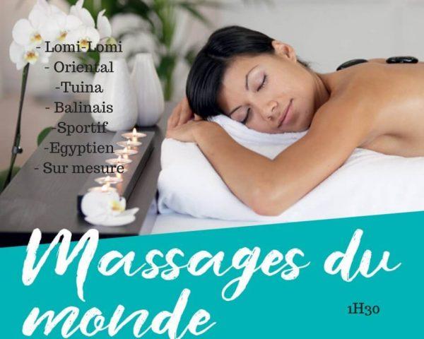 Massage du monde : soin du corps Vienne 38