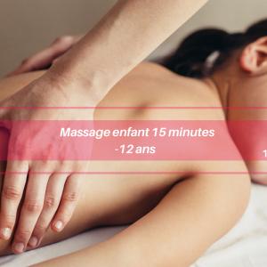 Massage enfant 15 minutes : soin du corps Annonay