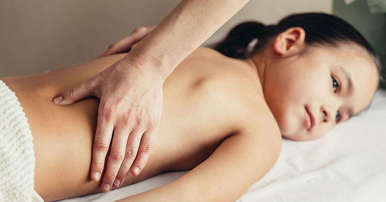 Massage enfant - soin esthétique Annonay