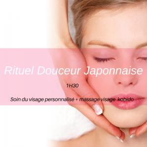 Rituel douceur japonnais : soin du visage Givors
