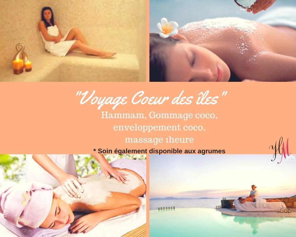 Voyage coeur des îles : massage et hammam traditionnel Bourgoin-Jallieu